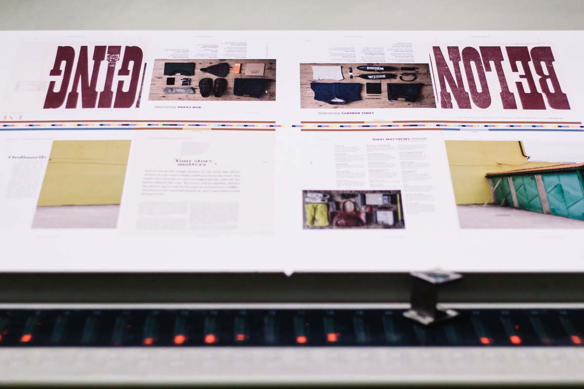 Let's Explore Magazine - Printing Process