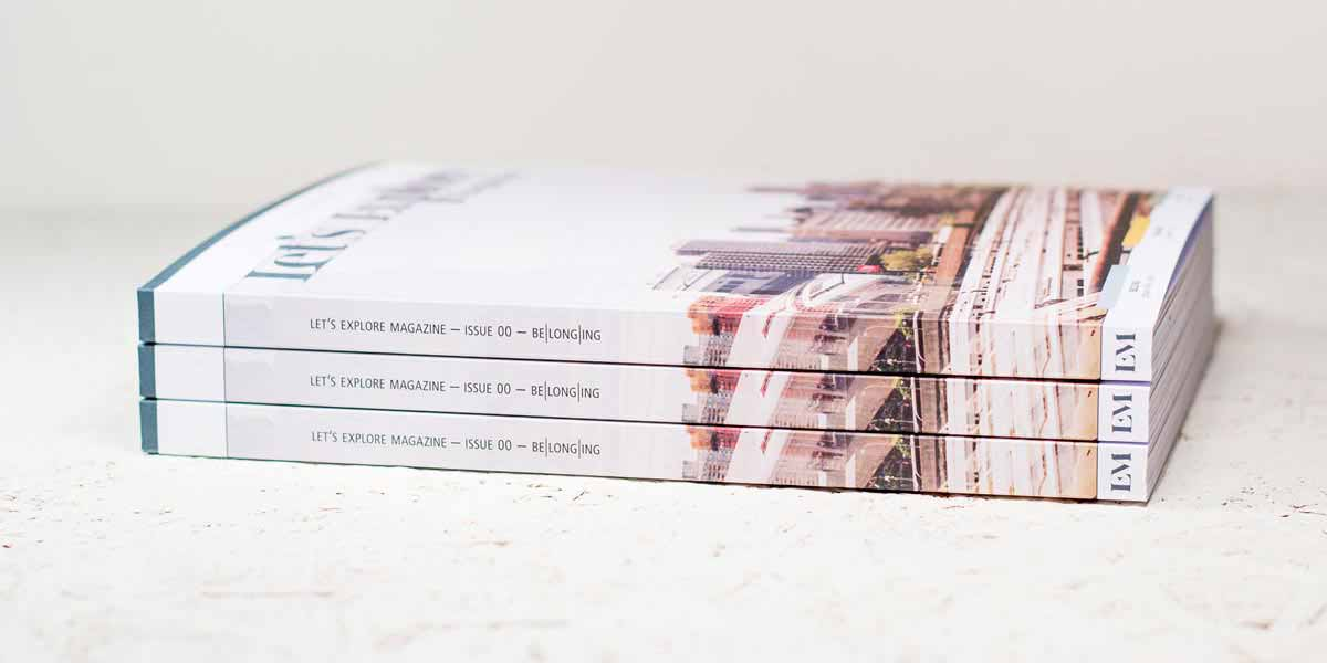Let's Explore Magazine Issue 00 Stack