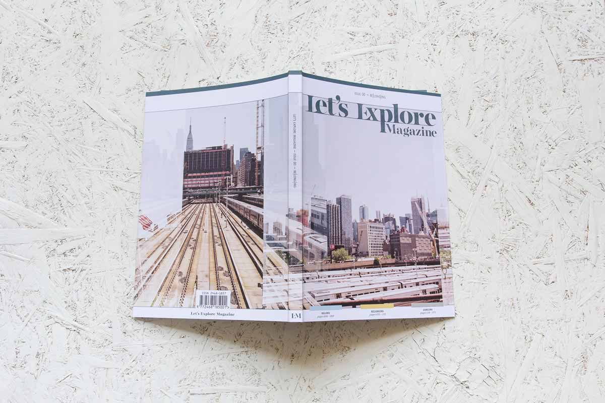 Let's Explore Magazine Issue 00