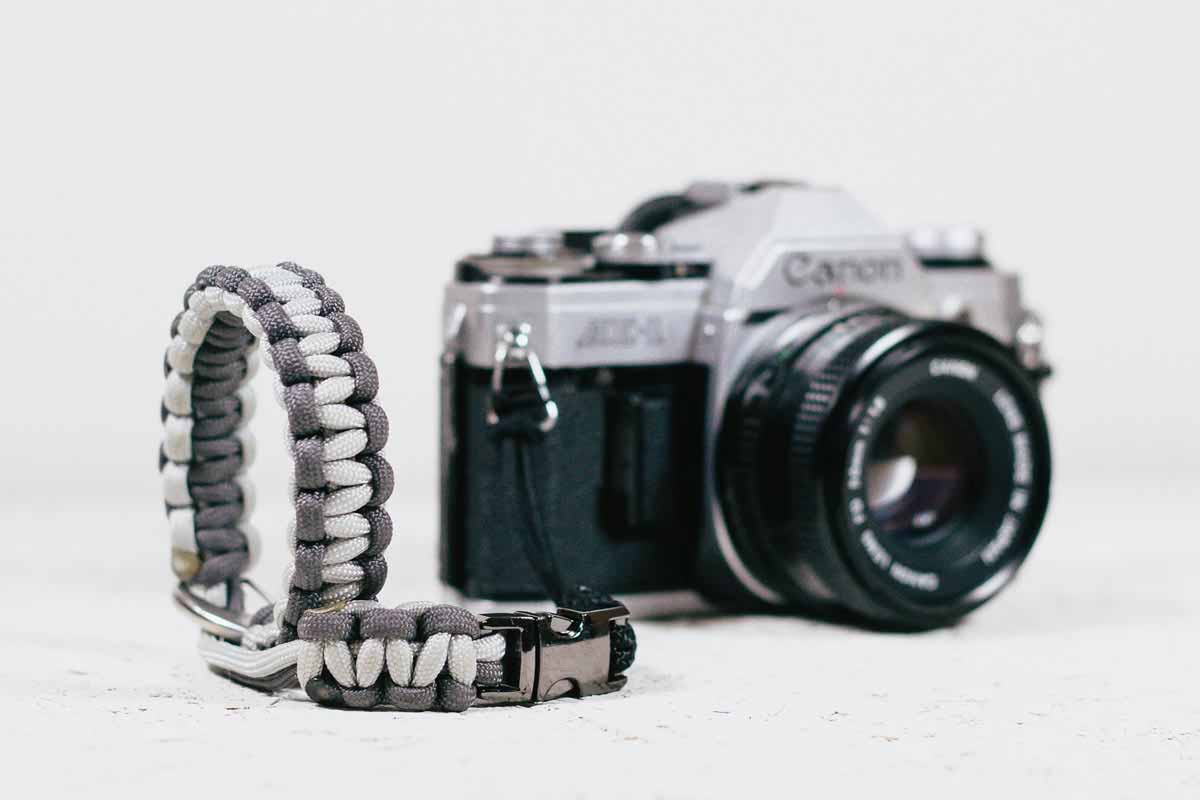 Let's Explore Magazine Camera Wrist Strap