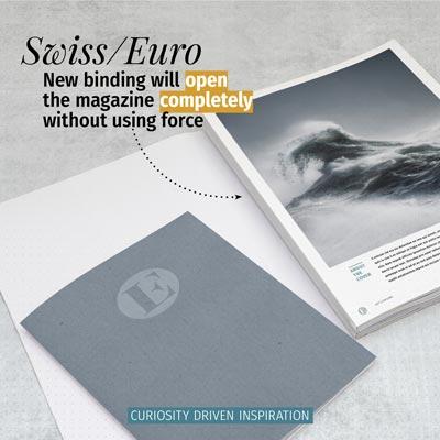 New magazine binding