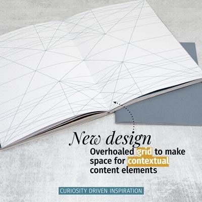 New magazine design